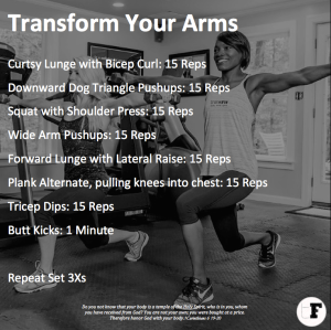 Final TransForm Your Arms Workout